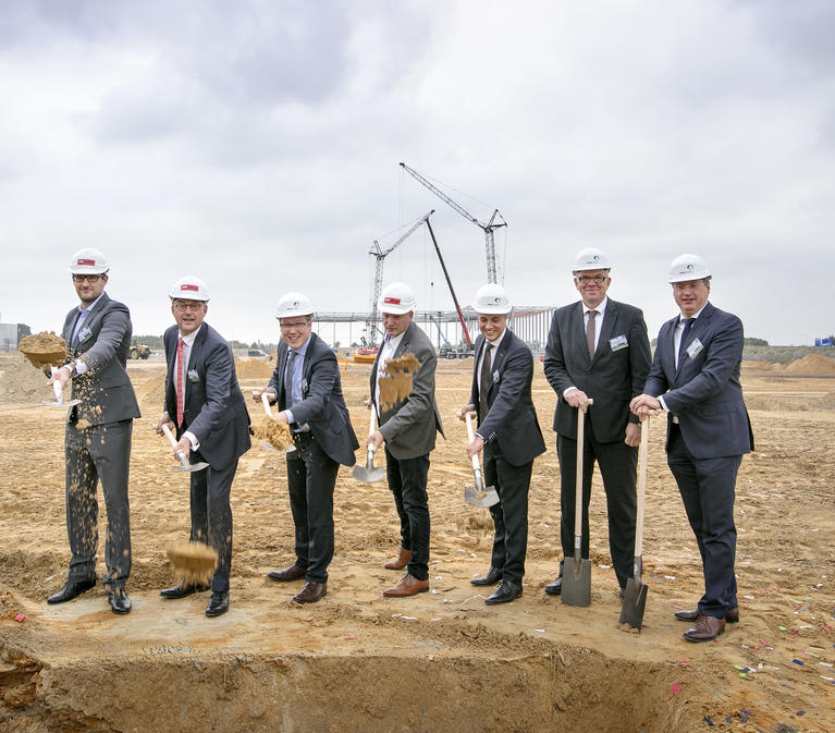 Groundbreaking with Prologis customers