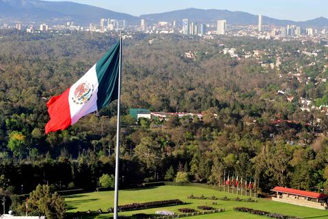 Prologis Timeline - 2010 Mexico Flag