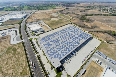 Prologis Kona Solar, Riverside DC5, California, USA