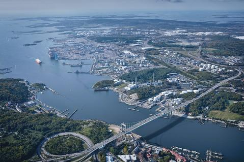 Port of Gothenburg, Sweden