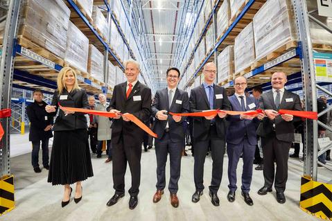 Opening of the carbon-neutral distribution center in Muggensturm